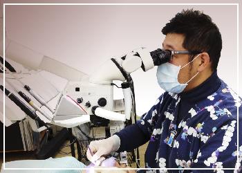 熟練の顕微鏡診断・診療